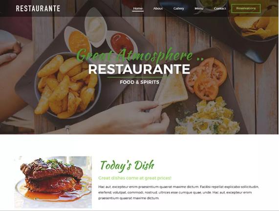 Free Food WordPress Themes
