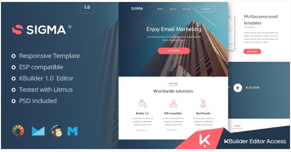 sigma Best Html Email Templates 2016 wpshopmart