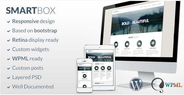 smartbox Best Bootstrap WordPress Themes wpshopmart
