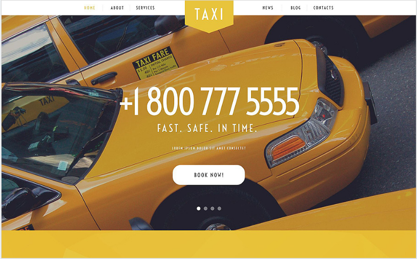 taxi Best Corporate Html Templates