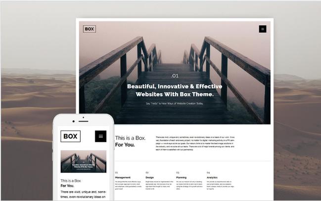 web design Best Responsive WordPress Parallax Themes