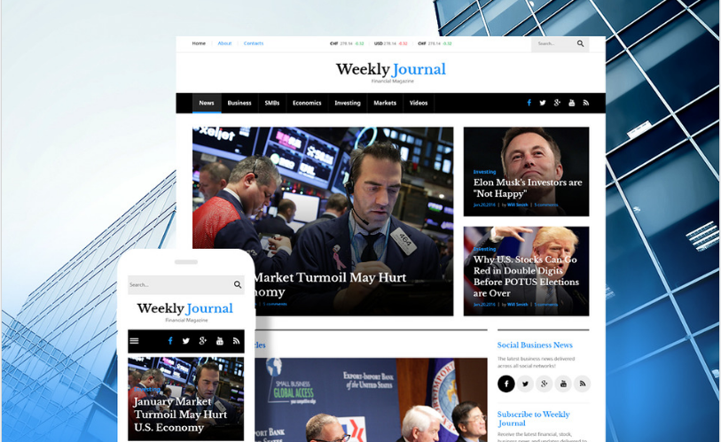weekly Best Corporate Html Templates