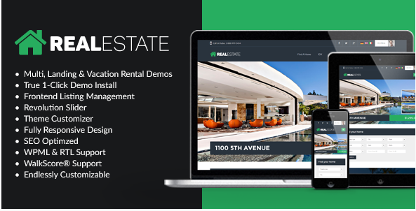 wppro Best Real Estate WordPress Themes wpshopmart