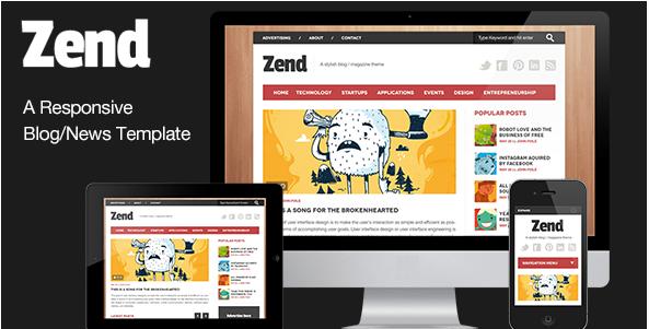 Best Blog Magazine Html Templates