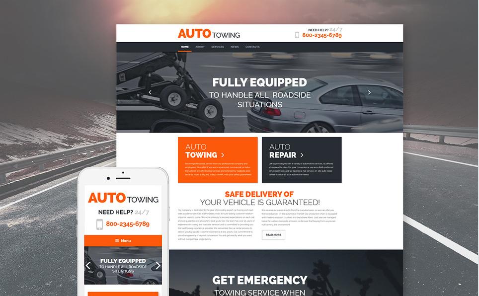 AUTO Bootstrap WordPress Themes