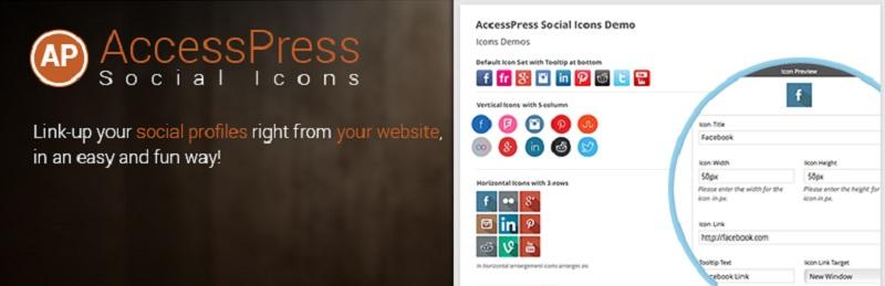 AccessPress Social Icons