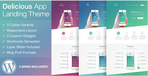 Best App Showcase WordPress Themes