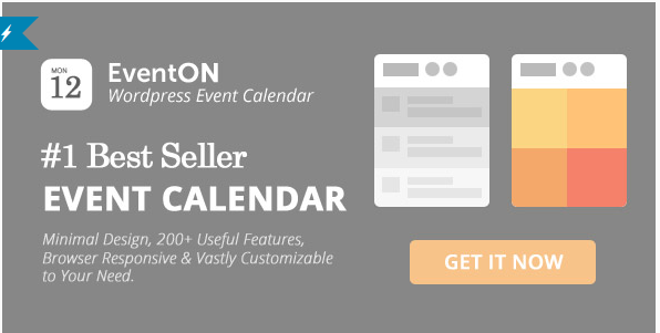EVENT ON best Premium WordPress Event Calendar Plugins 2016
