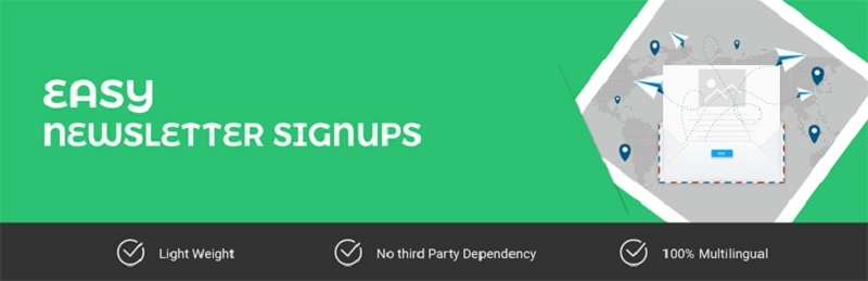 Easy Newsletter Signups