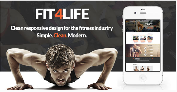 Best Yoga Gym PSD Website Templates