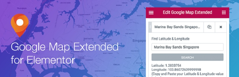 Google Map Extended