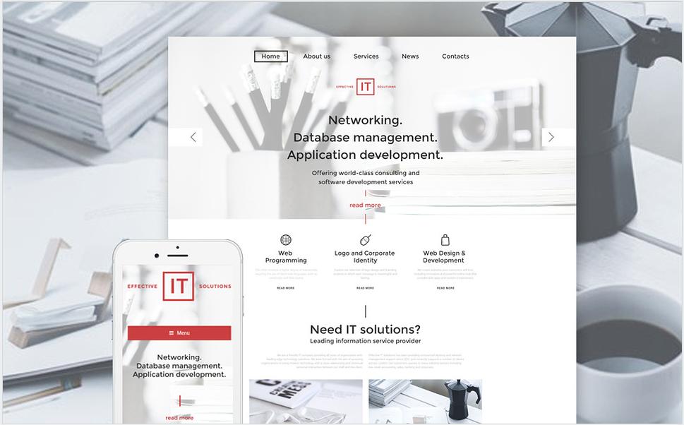 IT Bootstrap WordPress Themes