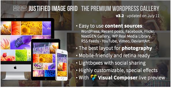 JUSTIFIED: Best WordPress Gallery Plugins