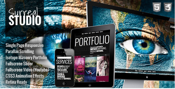 Best Creative Agency Portfolio Html Website Templates