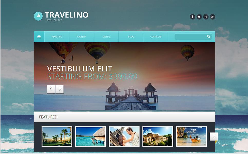 TRAVEL AGENCY Travel WordPress Themes
