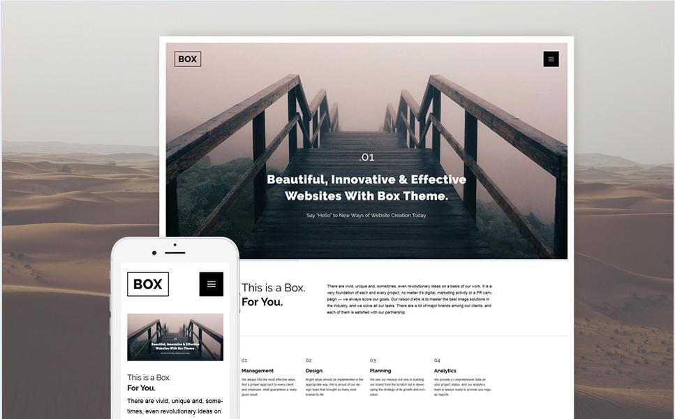 WEB Bootstrap WordPress Themes