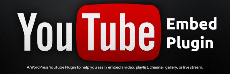 YouTube Free WordPress YouTube Plugins