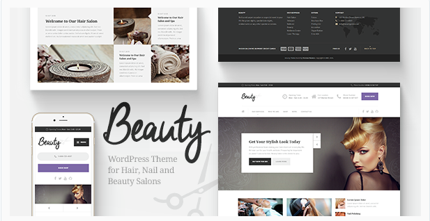 beauty Best WordPress Spa and Hair Saloon Themes