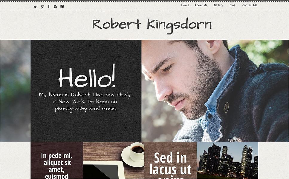 caeer Best WordPress Personal Blog Themes