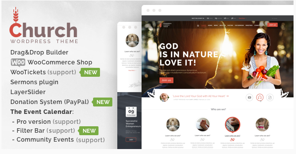 church Best Church WordPress Themes