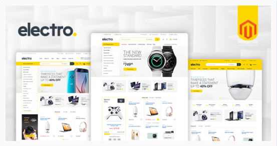 elsectro Best New eCommerce Magento Themes wpshopmart