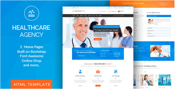healthcare Best Hospital Html Website Templates wpshopmart