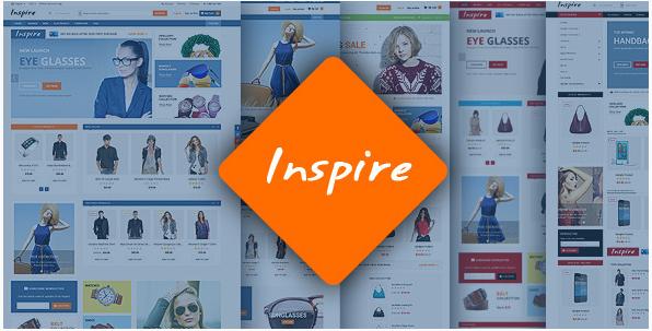 inspire Best Responsive Magento Themes