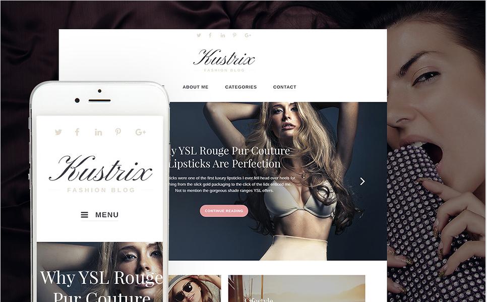 kustrix Bootstrap WordPress Themes