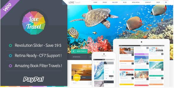 love Travel WordPress Themes