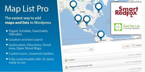 map list Best Premium WordPress Google Maps Plugins wpshopmart