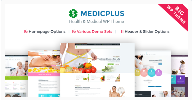 medic Bootstrap WordPress Themes