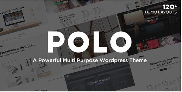 Polo: Best WordPress Multipurpose Themes