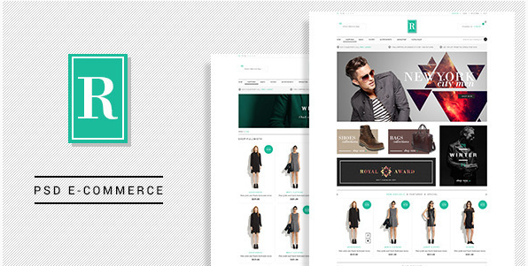 royal Best eCommerce PSD Website Templates wpshopmart