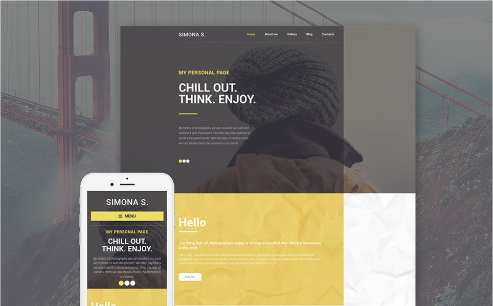 simona Best WordPress Personal Blog Themes