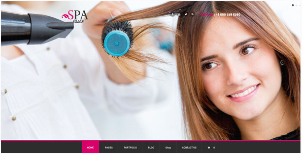 spa Best WordPress Spa and Hair Saloon Themes