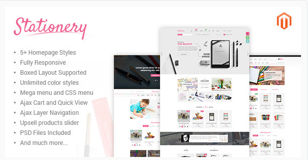 stationary Best Responsive Magento Themes