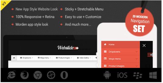 web slide