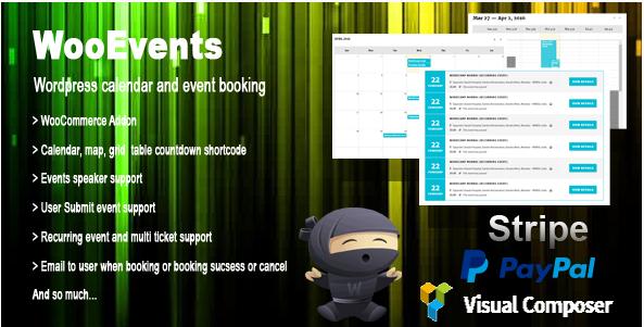 WooEvents: Best Premium WordPress Event Calendar Plugins