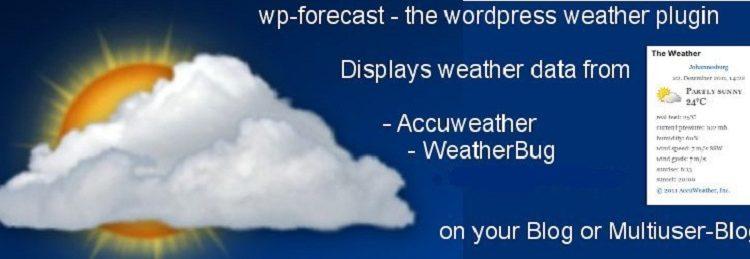 Free WordPress Weather Widget Plugins