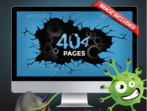 Amazing Examples of Creative 404 Page Designs