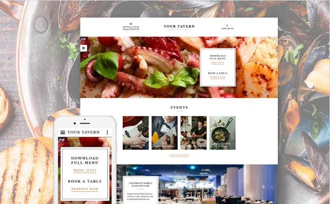 Best Premium Food Restaurant Html Website Templates