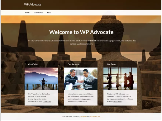 Free Law WordPress Themes