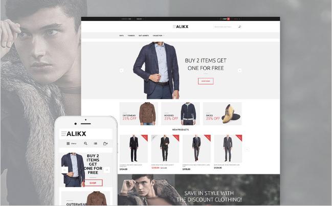 ALIK Best Premium Shopping Magento Themes