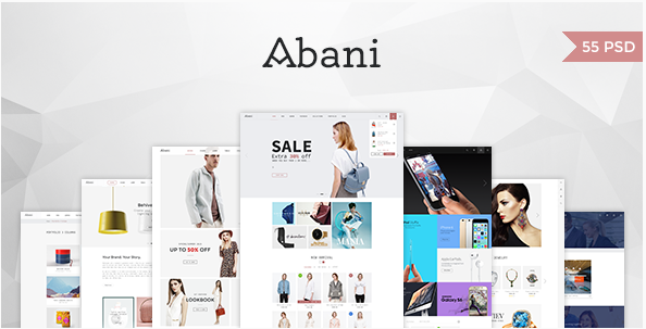 Abani – Multi Purpose eCommerce PSD Template