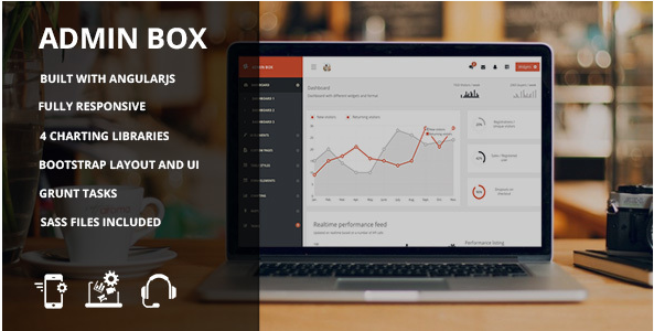 Admin box - AngularJS admin theme