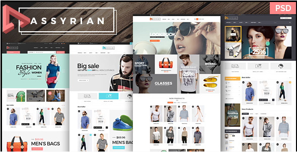 Best eCommerce PSD templates