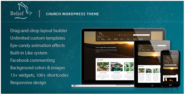 Belief - Church WordPress Theme