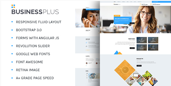 Business Plus - Corporate Business HTML5 Template
