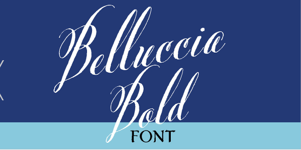 Calligraphy Bold Font