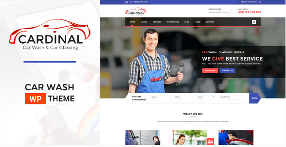 Car Dinal - Car Wash & Workshop WP Theme